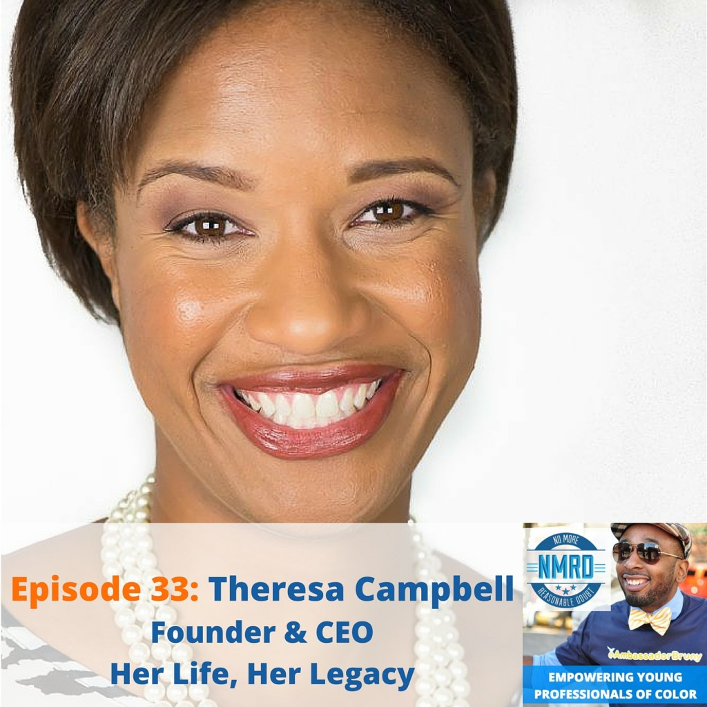 Empowering young professionals with Theresa Campbell